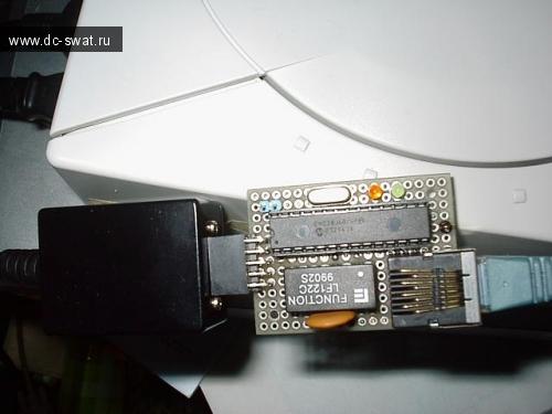 Serial LAN adaptor