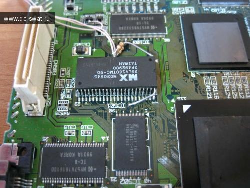 Перепрошивка Bios на Sega Dreamcast (bios mod) / Hardware