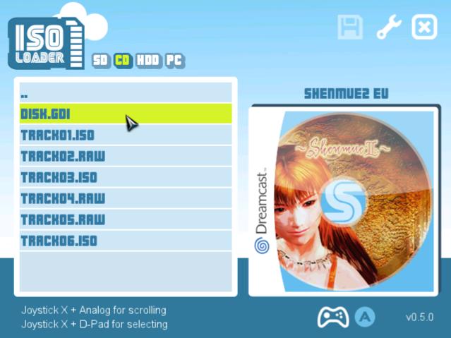 DreamShell 4.0 - ISO Loader